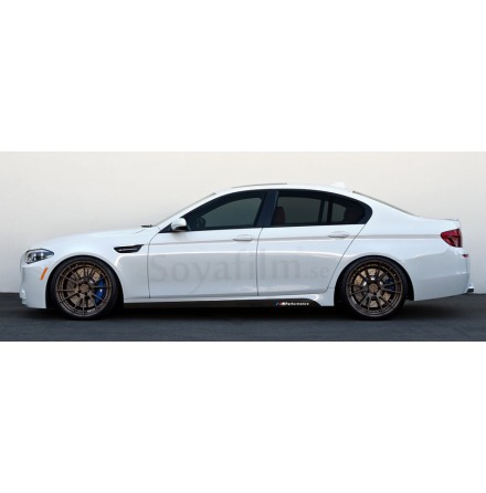 BMW ///M performance sidoskjol nedre 2 st h+v 225x10cm + ///M performance dekaler