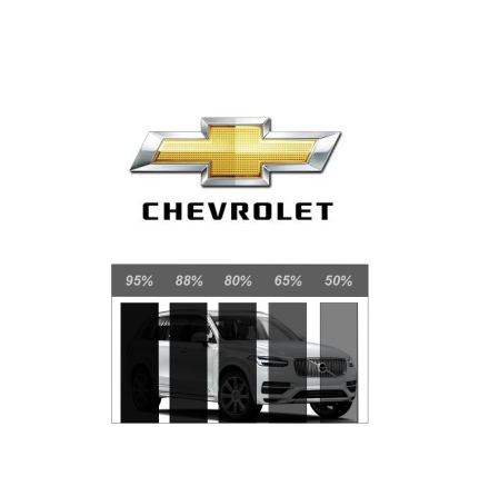 Färdigskuren Solfilm Proffs Chevrolet (Chevy)