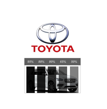 Färdigskuren Solfilm Proffs Toyota