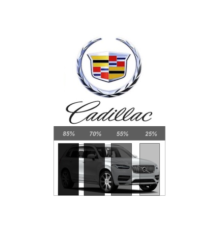 Pre Cut Removable tint CADILLAC