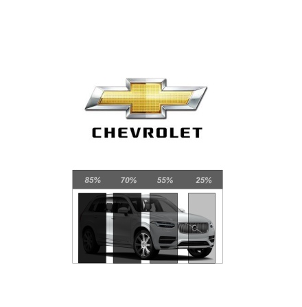 Pre Cut Removable tint CHEVROLET