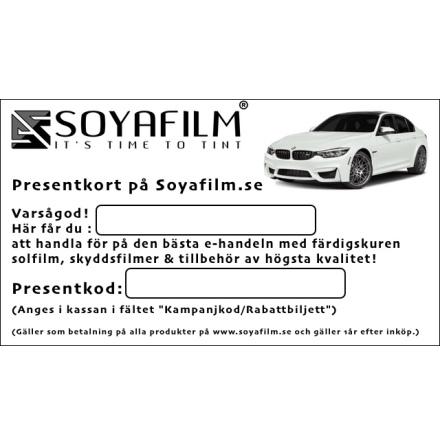 Presentkort på Soyafilm.se