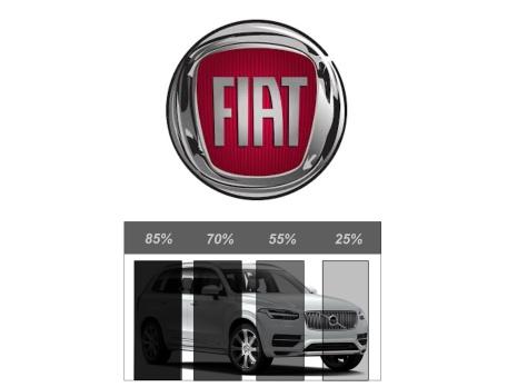 Färdigskuren Solfilm Avtagbar FIAT