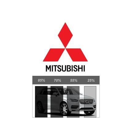 Färdigskuren Solfilm Avtagbar MITSUBISHI
