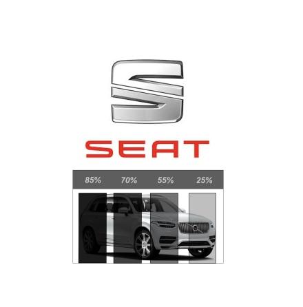 Färdigskuren Solfilm Avtagbar SEAT