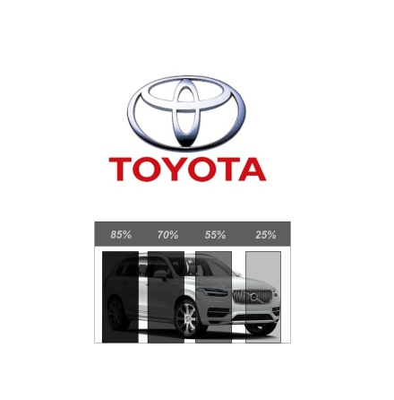 Pre Cut Removable tint TOYOTA