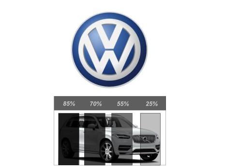 Färdigskuren Solfilm Avtagbar VW