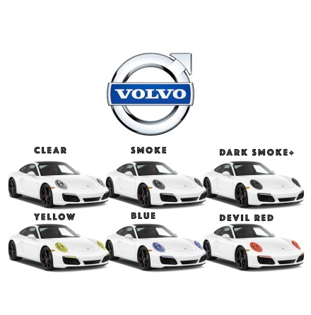 Pre-Cut protective film lights all VOLVO models