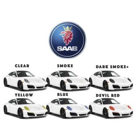 Pre-Cut protective film lights all SAAB models