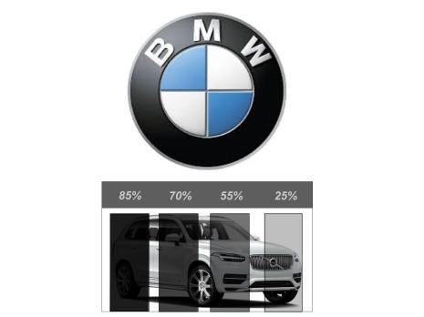Färdigskuren Avtagbar Solfilm - BMW