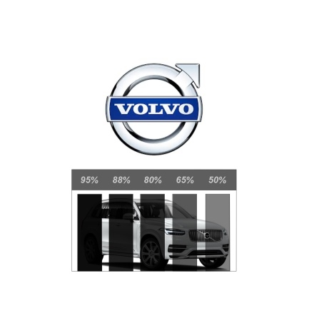 Färdigskuren Proffs Solfilm - VOLVO