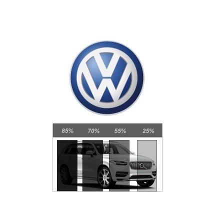 Färdigskuren Avtagbar Solfilm - VW