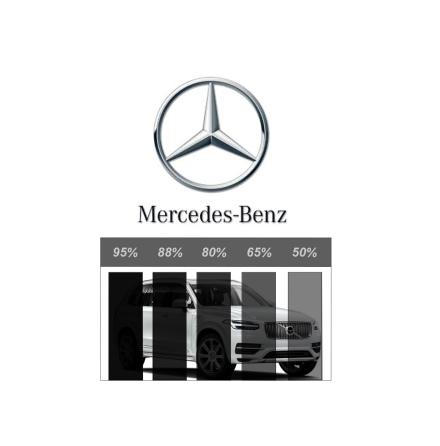 Färdigskuren Proffs Solfilm - Mercedes-Benz