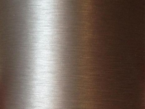 3D Borstad Aluminium vinyl mörkgrå Metervara