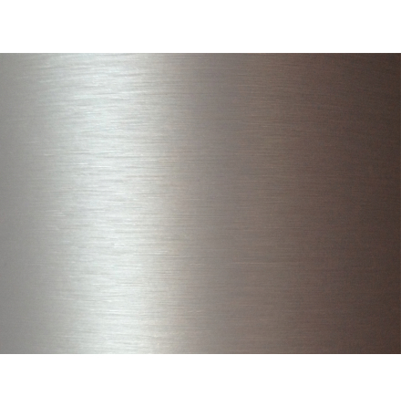 3D Borstad Aluminium vinyl ljusgrå Metervara