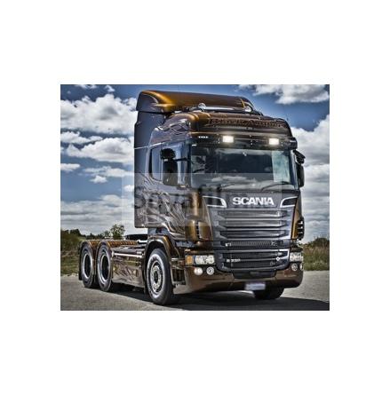 Scania färdigskuren solfilm